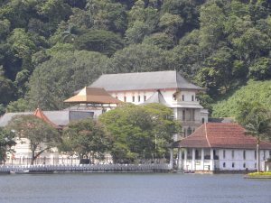 View of the Temple from Kandy Lake