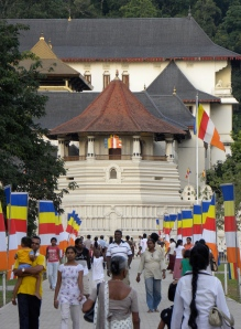 Temple of the Sacred Tooth - Kandy, Sri Lanka (2010)