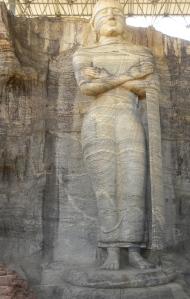 Standing image of Gal Vihara