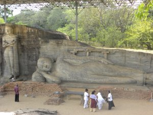 A tale of Buddha - Gal Vihara