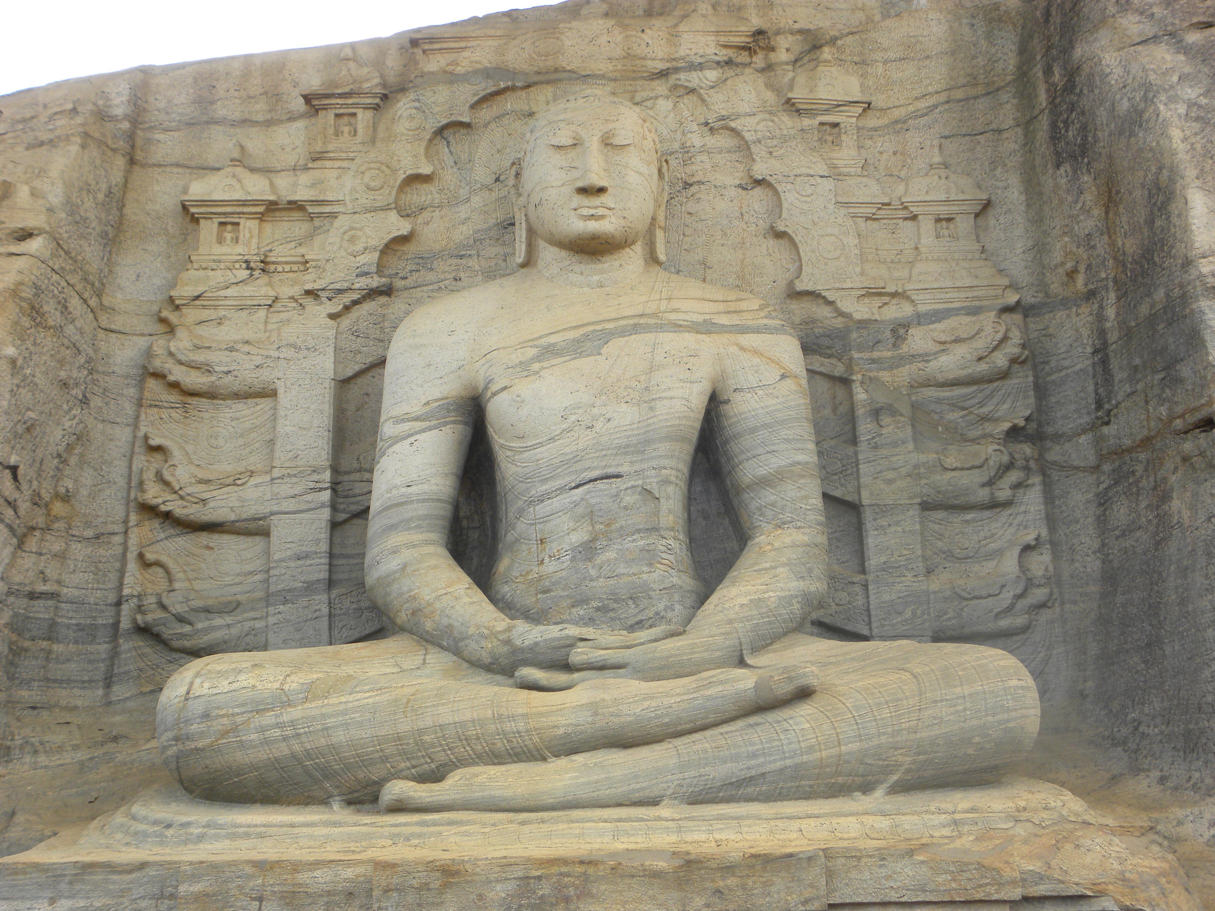Samadhi Buddha Statue Buddha in Samadhi Mudra Gal