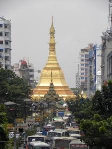 Sula Pagoda - central Yangon