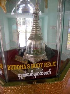 Inside the Buddha Body Relic Pagoda - Botataung complex