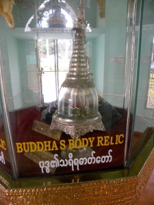 Inside the Buddha Body Relic Pagoda - Botataung complex