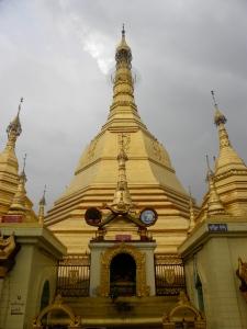 Sule Pagoda's central Stupa