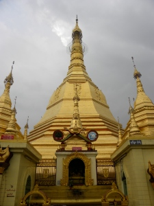Sule Pagoda's central Stupa