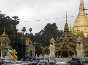 Southern Entrance - Schwedagon Pagoda