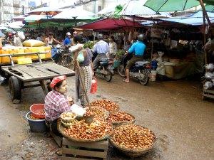 Betel Nut seller - Bago market