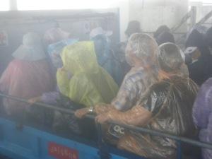 Truck at Yatetaung bus terminal