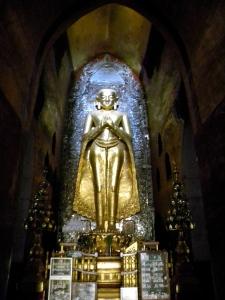 Standing Buddha inside Ananda Temple