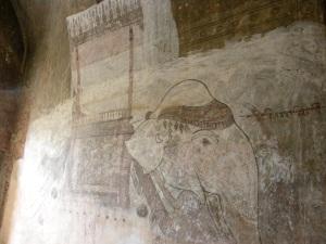 Elephant fresco - Sulamani Temple