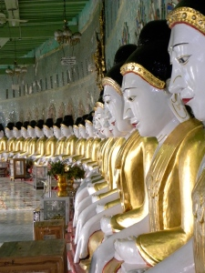 45 Buddha images of U Min Thonze - Sagaing