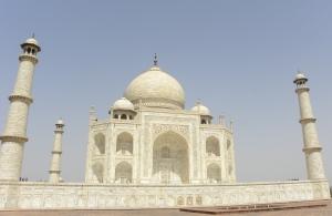 Taj Mahal (Shah Jahan's Mausoleum) - Agra, India