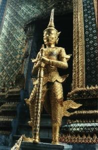Guardian Deity - outside Wat Phra Keow - Bangkok, Thailand (2006)