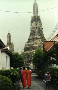The central prang of Wat Arun