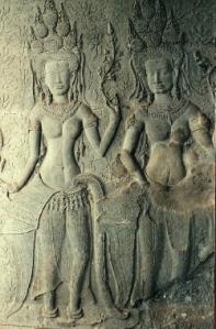 Dancing Apsaras - Angkor