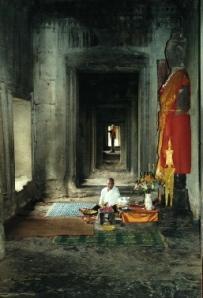 Female Monk - Angkor Wat
