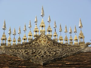 Dok Sa Fa of Wat Maha That