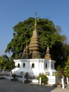 Golden funerary stupa at Wat That Luang