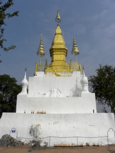 Wat Chomsi - summit of Mt. Phu Si