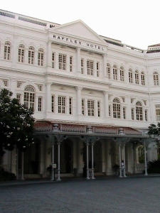Raffles Hotel - (main building completed in 1899)