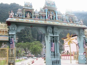 Entry Gate to Batu Caves