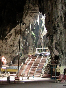 Inside main chamber - Batu Caves
