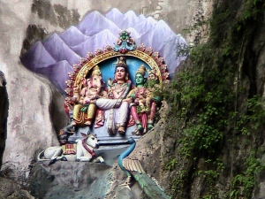 Ganesha, Vishnu, Shiva, Muruga, Nandi