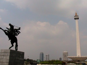 National Monument at Merdeka Square - Jakarta