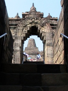 Gateway of southern staircase